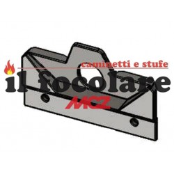INSULATING PANEL BOILER PELLET RED MCZ COMPACT COD. 41151101000