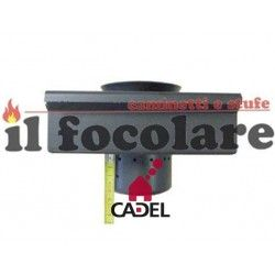 COMPLETE BRAZIER WITH CADEL WALL LEAN PLUS GRID COD. 4D14014603061
