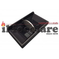 Brazier basket assembly for CLAM SMALL TOWER SUEZ pellet stoves