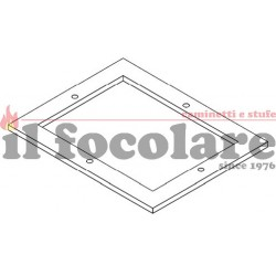 COMBUSTION CHAMBER GASKET ORIGINAL RED 365 cod. 41801209600