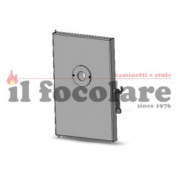 COMPLETE FINISHED DOOR COMPACT 14 RED 437013089