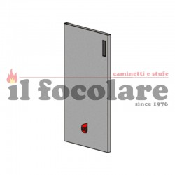 COMPACT RED COMPLETE FINISHED DOOR 41401133550