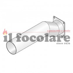 RED COMBUSTION AIR SUCTION HOSE 41601201960