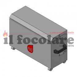 COMPACT RED ASH DRAWER 41401450750