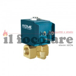 COMPACT RED SOLENOID VALVE 41451403600