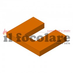 COMPACT 45 RED VERMICULITE DEFLECTOR 41151400501