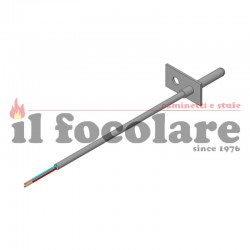 SMOKE PROBE WITH FLANGE COMPACT 45 RED 41451402000