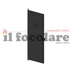 COMPLETE FINISHED DOOR COMPACT SLIM RED 41401343450