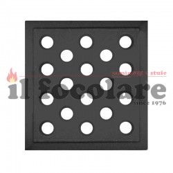 Cast iron grill for 16X16 fireplaces
