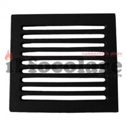 Cast iron grill for fireplaces 20.5 x 23.5 cm