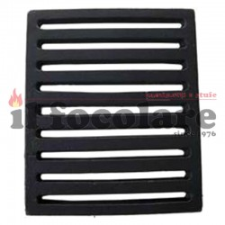 Cast iron grill for fireplaces 19.5 x 23.4 cm