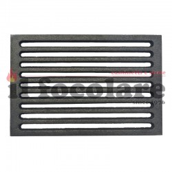 Cast iron grill for fireplaces 23.8 x 18.8 cm