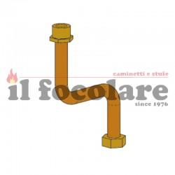 DUO HYDRO AIR MCZ 41501301600 EXCHANGER INLET PIPE